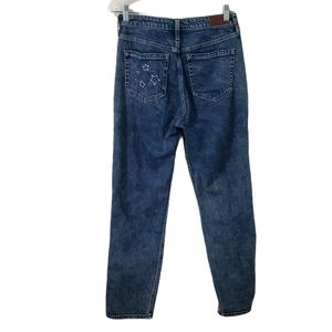 Hollister Acid Wash Ultra High-Rise Mom Star Jeans